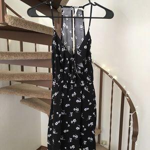 Mimi Chica Mini Dress - Black White - XS